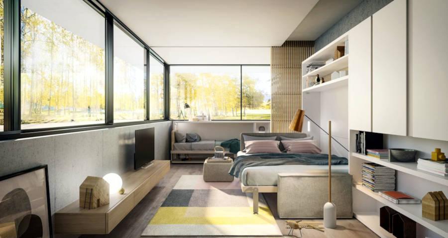 lit escamotable les avantages